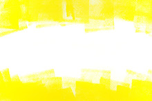 Abstract Yellow Painted Backgr...