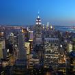 New york city / Skyline by night