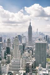 New York City Manhattan City Skyline