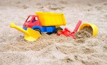 Sand Toys / Sand Toys In A Sandbox