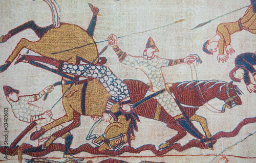 Bayeux tapestry Canvas-taulu