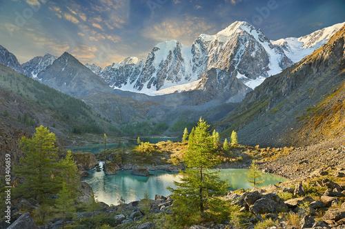 Aluminium Prints Mountains Altai mountains