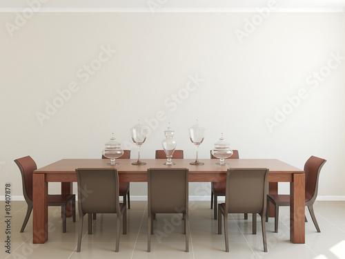 Fotografía  Dining-room interior.