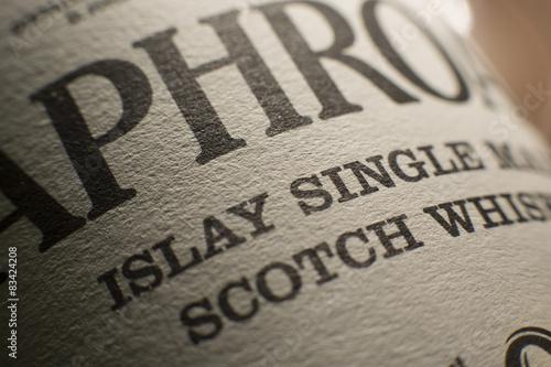Fototapeta Whisky from Islay