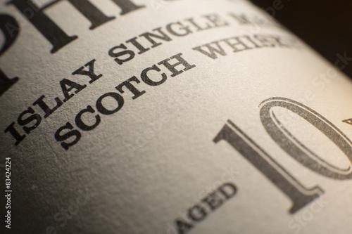 Fotografía Whisky from Islay