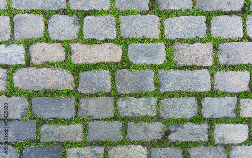 Photo Old cobblestone