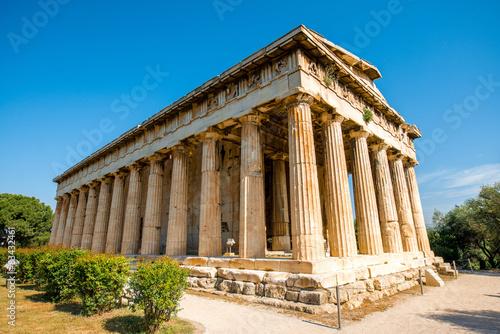 Photo Hephaistos temple in Agora near Acropolis
