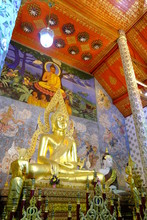 Buddha Statue In Wat Phrathat Chohae