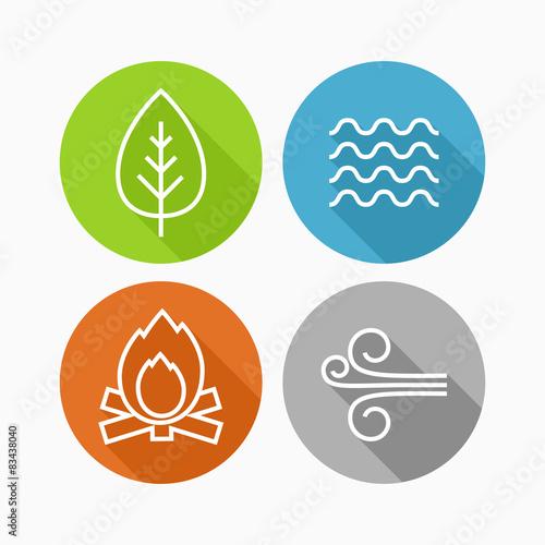 Fotografía  Element icons