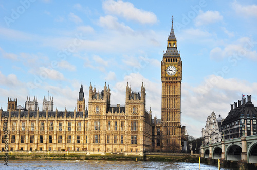 Foto op Canvas Londen Big Ben and Houses of Parliaments