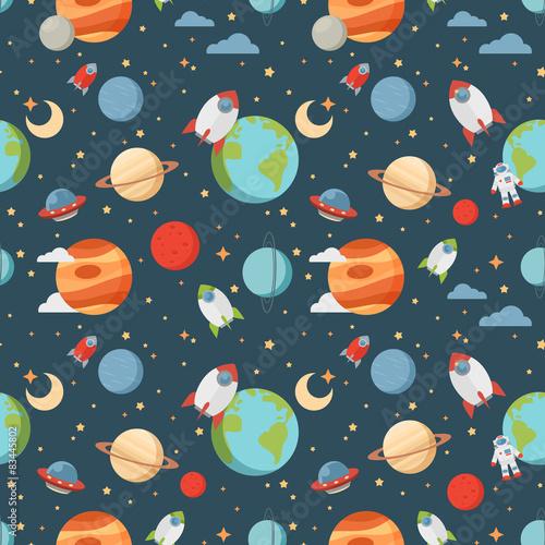 dzieciecy-wzor-kosmiczny