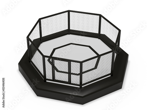 Photo  Octagon cage