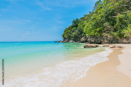Foto op Canvas Tropical strand Tropical beach
