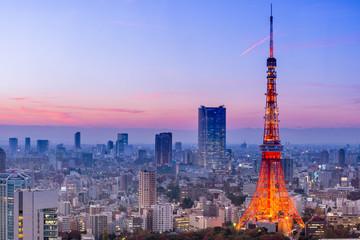 FototapetaTokyo Tower, Tokyo, Japan