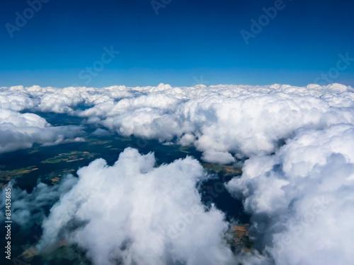 Obraz Beautiful cloudscape in the sky - fototapety do salonu