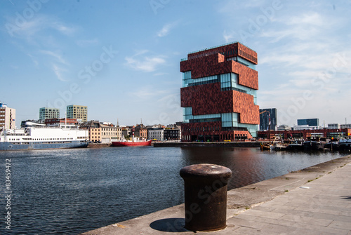 Museum aan de Stroom am Oostendekaai in Antwerpen