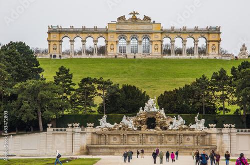 Gloriette im Park Schloss Schönbrunn, Wien