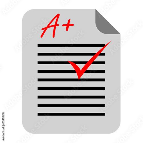 Foto  Icono examen A+