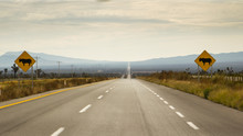 Endless Straight Road