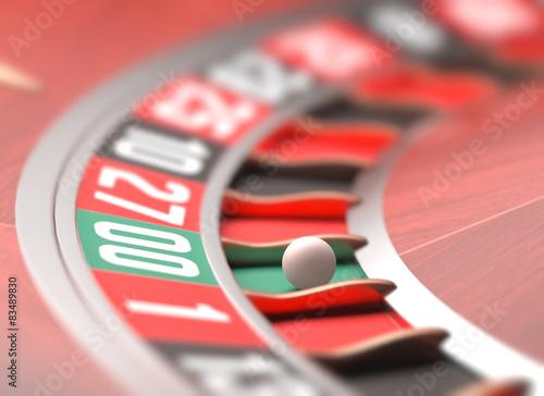 Roulette Game плакат
