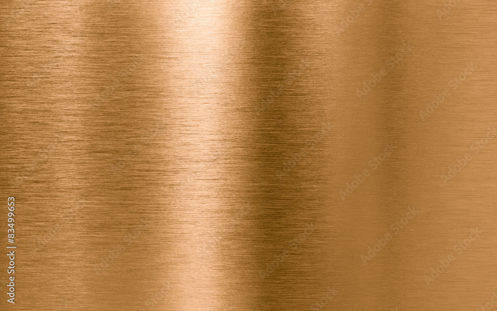 Fototapety, obrazy: Bronze or copper metal texture background