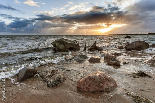 Spoed Foto op Canvas Noordzee Lichtstimmung über der Nordsee