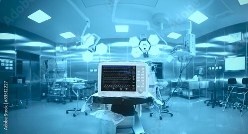 Fotografia Innovative technology in a modern hospital operating room
