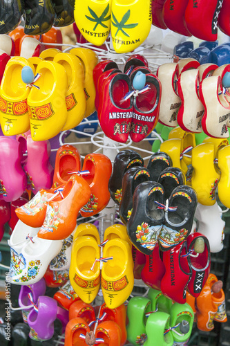 Dutch Wooden Shoes In Many Colors For Sale In Amsterdam Buy This