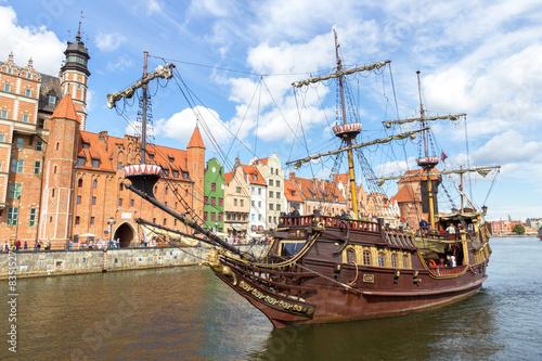 Photo Stands Ship Gdansk - Poland