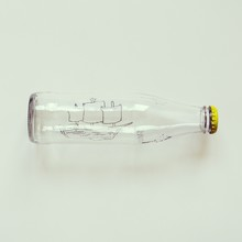 Conceptual Ship In Bottle