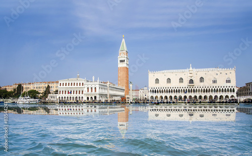 Foto op Canvas Venice San Marco and Doge's Palace with reflection in Venice, Italy
