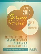 Live Music Festival Spring Pos...