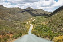 Deserted Road Into Cederberg Nature Reserve