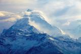 wschód słońca w górach - 83551401