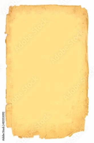 Obraz stara kartka - fototapety do salonu