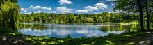 Beautiful Pond Panoramatic