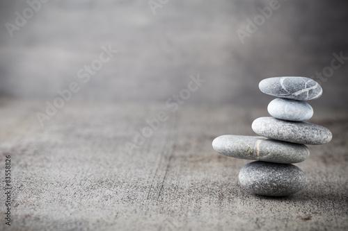 Foto op Plexiglas Stenen in het Zand Wellness background.