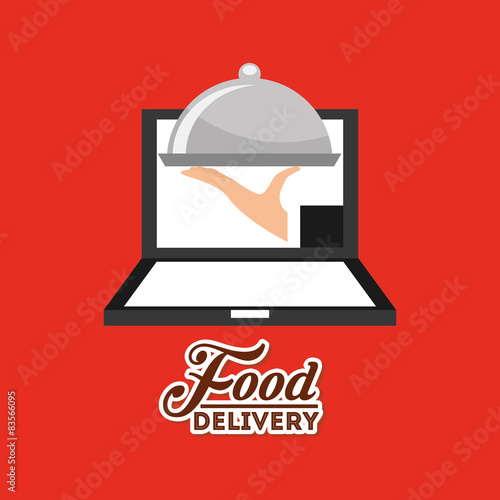 Fototapety, obrazy: food delivery