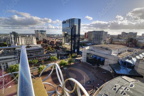 Centenary Square, Birmingham, UK. Wallpaper Mural