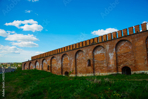 La pose en embrasure Palerme Smolensk Kremlin.The City Of Smolensk. Russia.