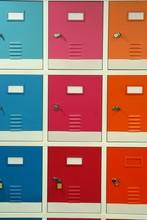 Colorful Steel Lockers