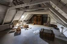 Old Attic With Hidden Secrets ...