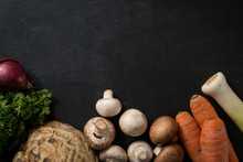 Fresh Vegetable Food Background
