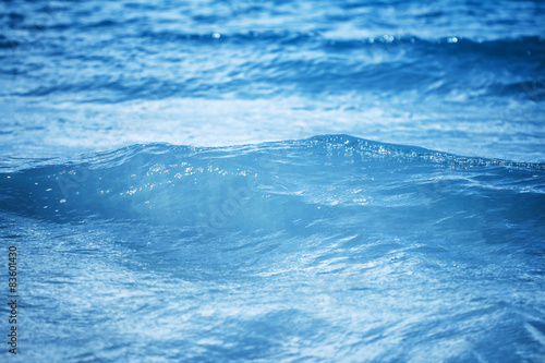Fototapety, obrazy: close up sea water surface