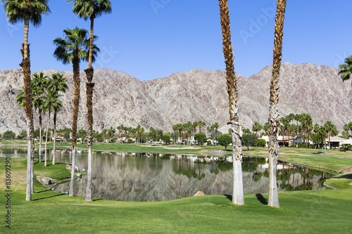 Keuken foto achterwand Begraafplaats Pga West golf course, Palm Springs, California