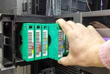 Streamer, Tape Library For Data Backup