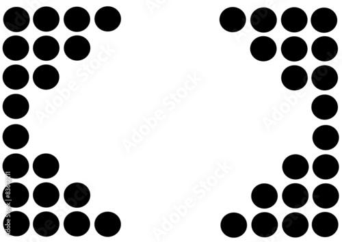 Sfondo Cerchi Bianco Nero Acquista Questo Vettoriale Stock Ed