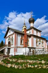 Fototapeta na wymiar Church in Kolomna Kremlin - Moscow region - Russia