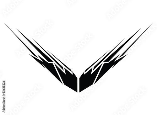 Obraz na płótnie Tattoo tribal vector design