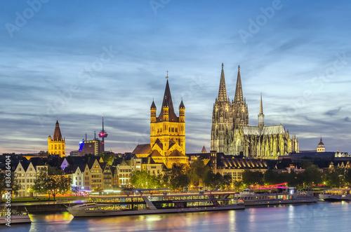 Fotografía  view of Cologne, Germany